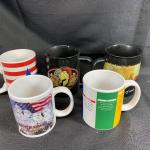 Lot of 5 Coffee Cups
