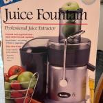 Lot #45 -- Breville Juice Fountain