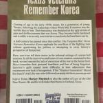 Texans in the Korean War - Signed First Edition