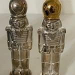 Lot #49 -- Godinger Silver-plate Nutcracker Salt & Pepper