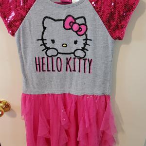 Photo of Girls Hello Kitty Dress Size 10/12