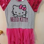 Girls Hello Kitty Dress Size 10/12