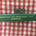 Texana - Uncommon Texas Reference - Oakwood Cemetery McLennan County