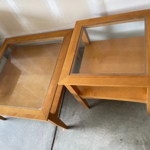 Photo of Square Coffee table & End table