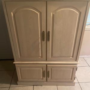 Photo of Armoire plus  TV entertainment storage cabinet