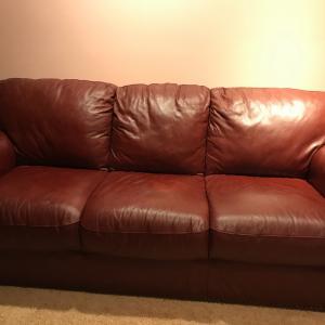 Photo of Leather sofa