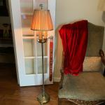 Beautiful Vintage 3 Candle Floor Lamp