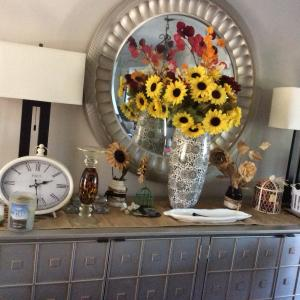 Photo of Gorgeous silver credenza