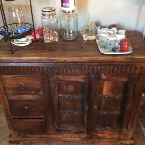 Photo of Solid wood cabinet