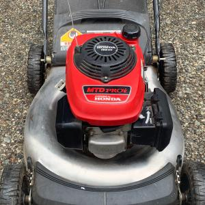 Photo of Must Move Quickly - Free MTD Powered by Honda Lawnmower - Runs Well - (Bellevue)
