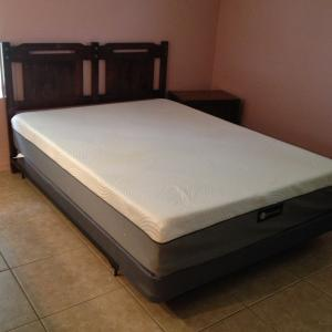Photo of Queen Mattress and Box Spring Kevin Charles Pillow Top
