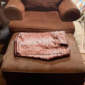 Photo of Chair and ottoman set