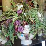 Large floral arrangement