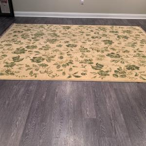 Photo of Large Sectional Rug