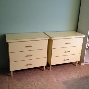 Photo of (2) 3 Draw 4 Leg Storage Chests $45 Each