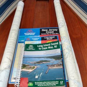 Photo of Charts - Sailing South This Winter?