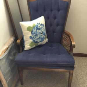 Photo of Blue Comfortable Side Chair