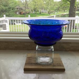 Photo of Cobalt Blue Handmade Bowl