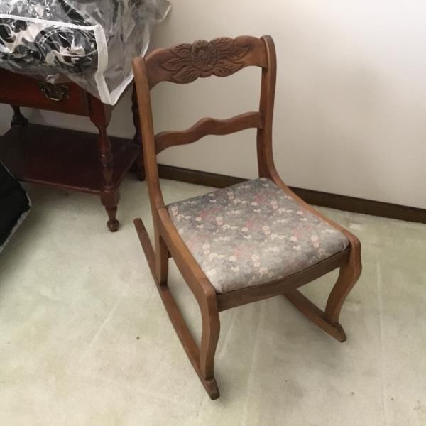 Photo of Rosewood Antique Chair