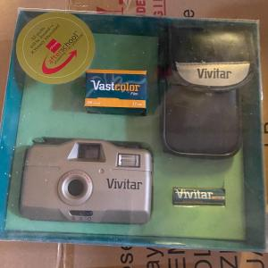 Photo of Vintage 35mm Vivitar Camera
