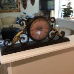 French Metal Clock