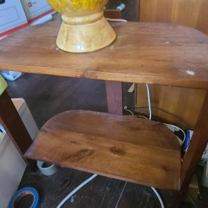 Photo of MCM Wood Table