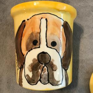Photo of Ceramic Doggie Cookie Jar