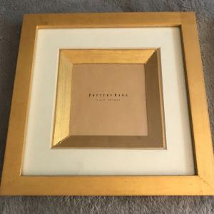 Photo of Pottery Barn Pair of NEW Wood Picture Frames