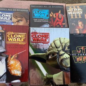 Photo of Star Wars Clone Wars dvd lot