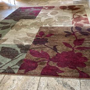 Photo of 8x10 area rug