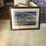 Print  Double Mated Wood Frame