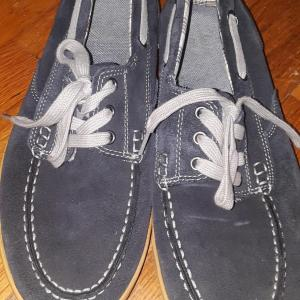 Photo of Navy Blue Clark Loafers