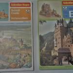 German cardstock castles