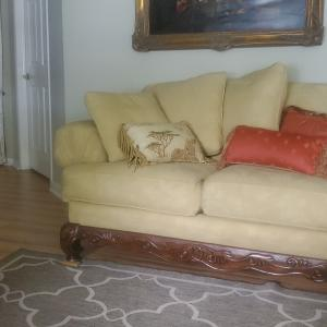 Photo of Sofa and Loveseat