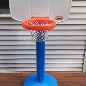 Photo of Little Tikes Larger Basketball Hoop with Ball