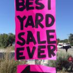 GARGE SALE, ALL CLOTHES $1 PRICED TO GO! SUNDAY 7/11 @ 7 AM