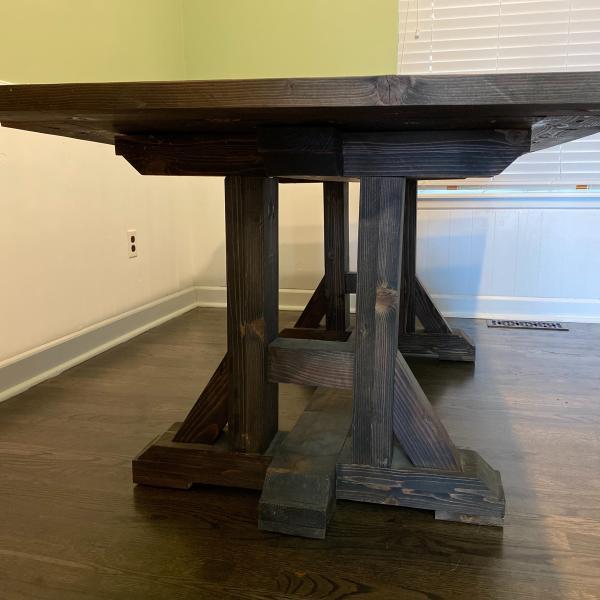 Photo of Handmade farmhouse table