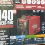 Lincoln Electric weld pak 140 HD wire feed welder