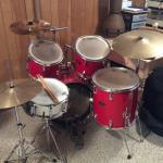 Pearl 5pc Drum Set