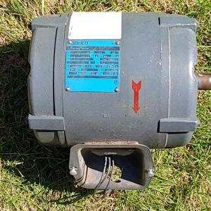 Photo of Gould Industrial Motor - 3 HP