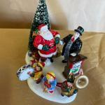 "Dept 56. Snow Village. ""Santa Comes to Town, 1997"""