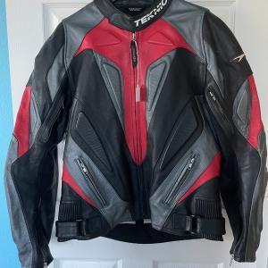 Photo of Teknic Leather Motorcycle Jacket