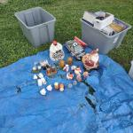Yard sale,Thurs and Friday