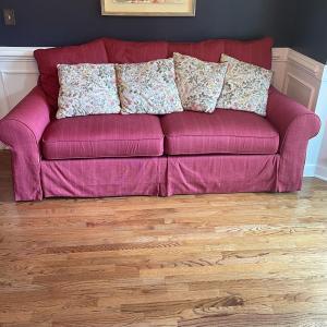 Photo of LOT 135 - J. Royale Furniture, Upholstered Sofa