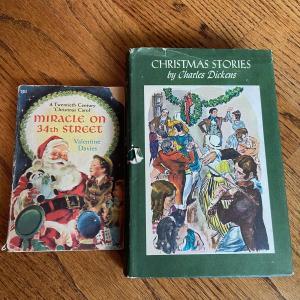 Photo of LOT 122 - Classic Christmas Books, Vintage (2 books), 1955