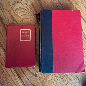 Photo of LOT 128 - Antique Reference Books (2 books), 1936-1957
