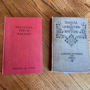 Photo of LOT 127 - Antique Writing Theme Books (2 books), 1907-1929