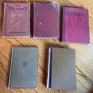 Photo of LOT 117 - Antique Arithmetic Books (5 books)