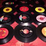 67  45RPM records