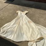 Vintage 50's wedding dress